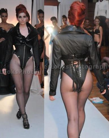 Fashion Show bodysuit and jacket